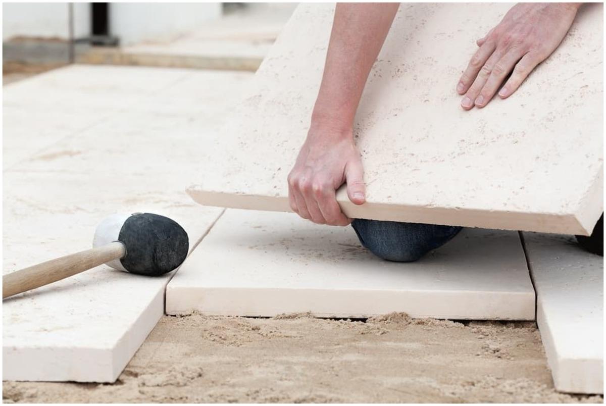 installer des pavés pour bordure